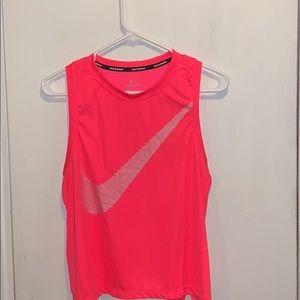 Bright pink athletic Nike team